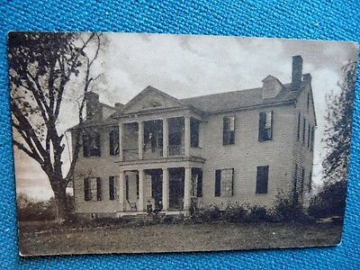 Tazewell Hall late 1920s, John Randolph Jr.'s home.